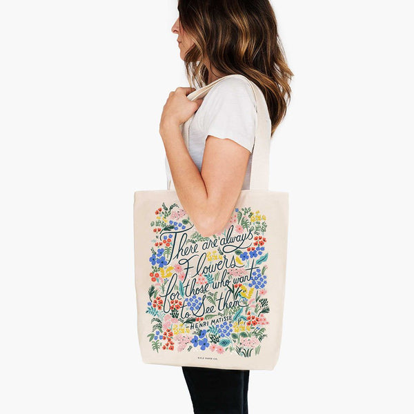 tote Rifle Paper Co_seeing flowers_estilographica