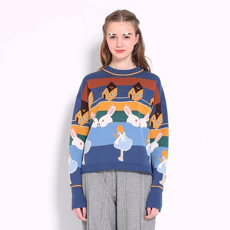 Alice In Wonderland Sweater Yummycactuscom