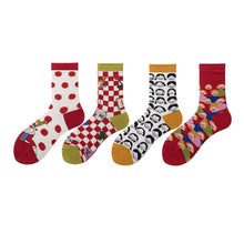 Faces Socks (4 Pairs)