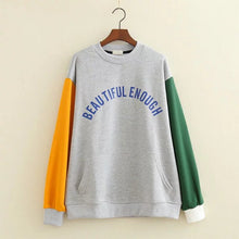 Beautiful Enough Sweatshirt grey