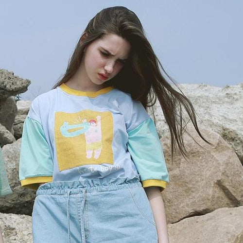Cute Boy T-Shirt