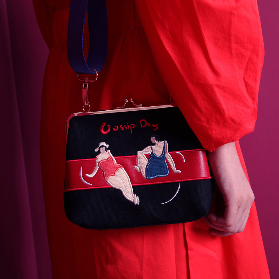 Gossip Day Clasp Bag