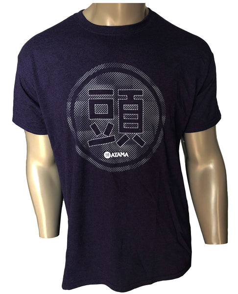 NAVY BLUE ATAMA LOGO T-SHIRT