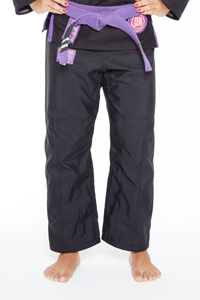BLACK ATAMA ULTRA-LIGHT WOMEN GI PANTS