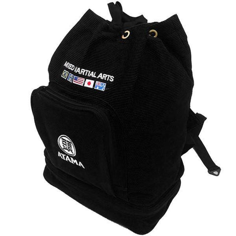 Atama Europe Backpack BLACK ATAMA GI BACKPACK