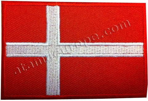 Atama Europe Patch DENMARK FLAG PATCH