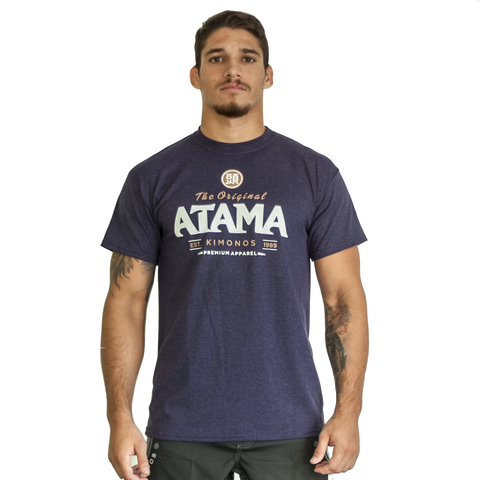 Atama Europe Accessories NAVY BLUE ATAMA ORIGINAL T-SHIRTS