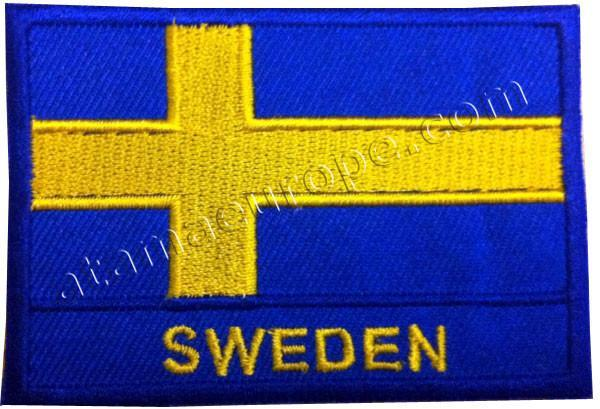 Atama Europe Patch SWEDEN FLAG PATCH