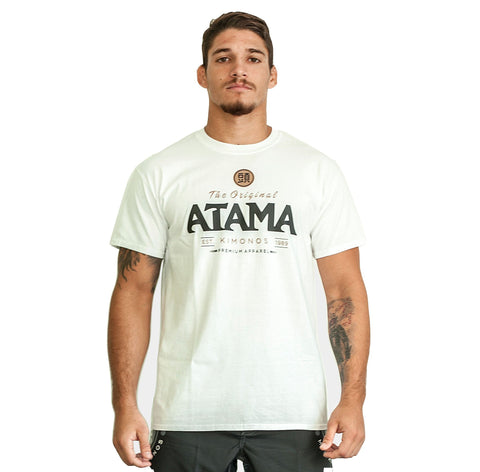 Atama Europe Accessories WHITE ATAMA ORIGINAL T-SHIRTS