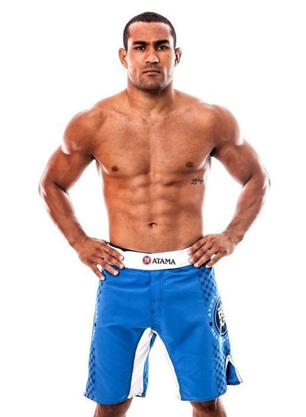 Atama Europe Grappling Shorts WHITE/BLUE ATAMA COMP GRAPPLING SHORTS (50% OFF)