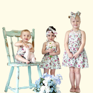 Forget Me Not Romper