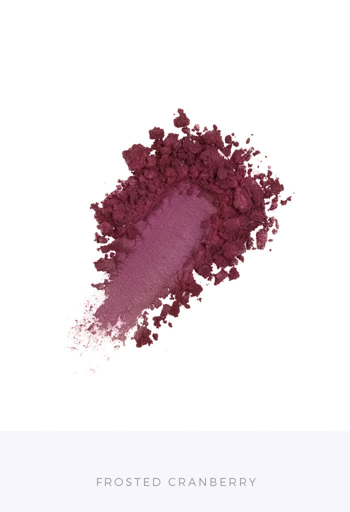 Frosted Cranberry Bulk Loose Pigment Eyeshadows Wholesale Mineral Makeup