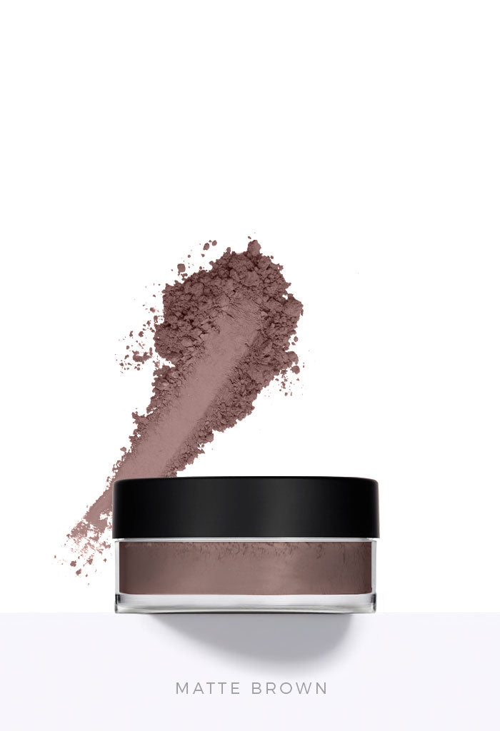 Private Label Matte Brown Loose Mineral Eyeshadow Wholesale Makeup Australia