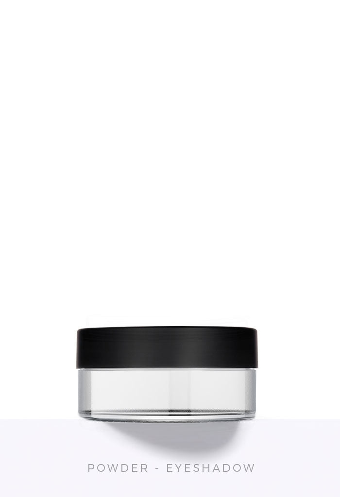 Powder Eyeshadow Jar with Closable Sifter