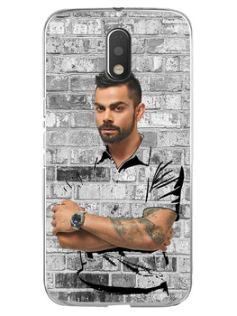 The Wall Of Kohli Moto E3 Mobile Cover Case