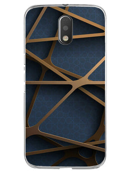 Random Geometry Moto E3 Mobile Cover Case