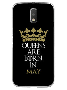 Queens May Moto E3 Mobile Cover Case