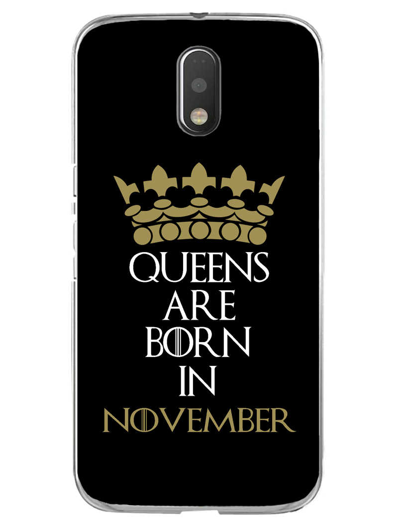 Queens November Moto E3 Mobile Cover Case