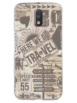 Wanderlust Graffiti Moto E3 Mobile Cover Case