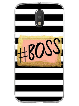 The Boss Moto E3 Mobile Cover Case