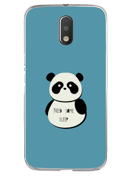 Sleepy Panda Moto E3 Mobile Cover Case