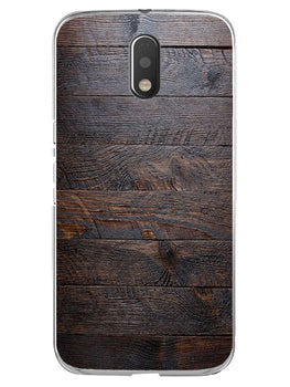 Wooden Wall Moto E3 Mobile Cover Case