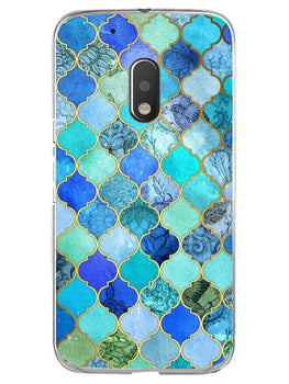 Morroccan Pattern Moto G4 Play Mobile Cover Case