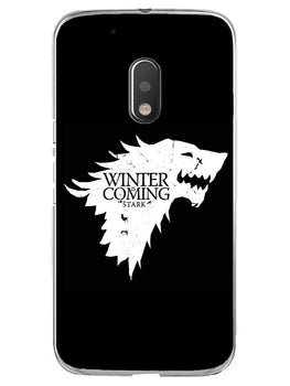 Winter Is Coming Moto G4 Play Mobile Cover Case