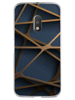 Random Geometry Moto G4 Play Mobile Cover Case