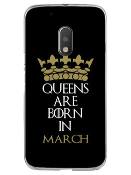 Queens March Moto G4 Play Mobile Cover Case