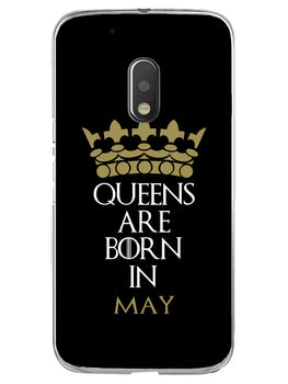 Queens May Moto G4 Play Mobile Cover Case