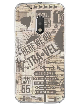 Wanderlust Graffiti Moto G4 Play Mobile Cover Case