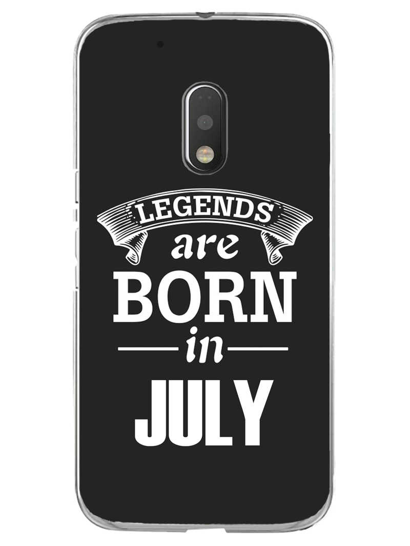 Legends July Moto G4 Play Mobile Cover Case - MADANYU
