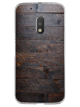 Wooden Wall Moto G4 Play Mobile Cover Case