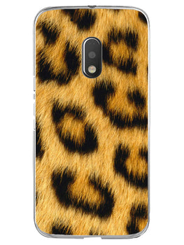 Leopard Print Moto G4 Play Mobile Cover Case