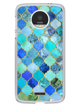 Morroccan Pattern Moto Z Mobile Cover Case