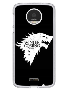 Winter Is Coming Moto Z Mobile Cover Case