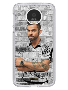 The Wall Of Kohli Moto Z Mobile Cover Case