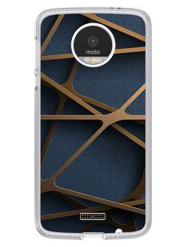 Random Geometry Moto Z Mobile Cover Case