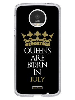 Queens July Moto Z Mobile Cover Case