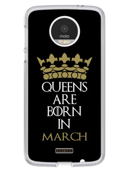 Queens March Moto Z Mobile Cover Case