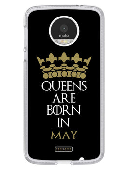 Queens May Moto Z Mobile Cover Case