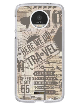 Wanderlust Graffiti Moto Z Mobile Cover Case