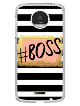 The Boss Moto Z Mobile Cover Case