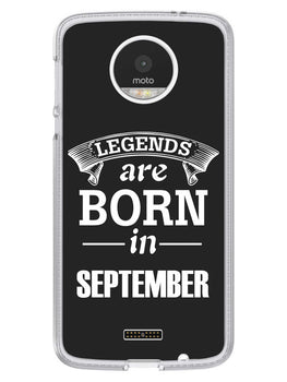 Legends September Moto Z Mobile Cover Case