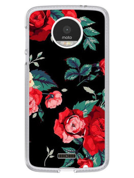 Mesmerizing Roses Moto Z Mobile Cover Case