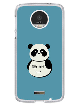 Sleepy Panda Moto Z Mobile Cover Case