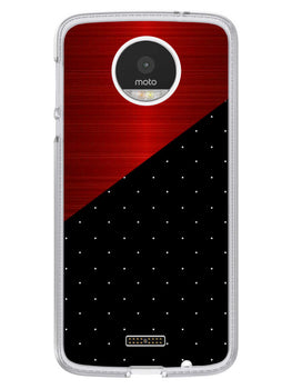 Polka Dots On Wood Moto Z Mobile Cover Case