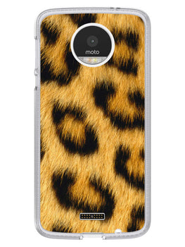 Leopard Print Moto Z Mobile Cover Case