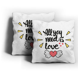 You Need Love Cushion Cover